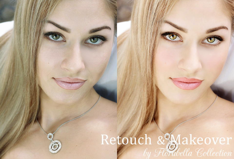 Florabella Retouch and Makeover Photoshop Actions for Portrait Retouching